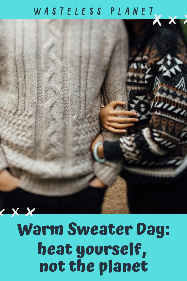 I\'d like to introduce you to a fun, cosy tradition that we have in my country, the Netherlands, to raise awareness to climate change. It\'s called \'Warmetruiendag\', or as you would say: Warm Sweater Day. This year we celebrate it on Friday February 15th. 