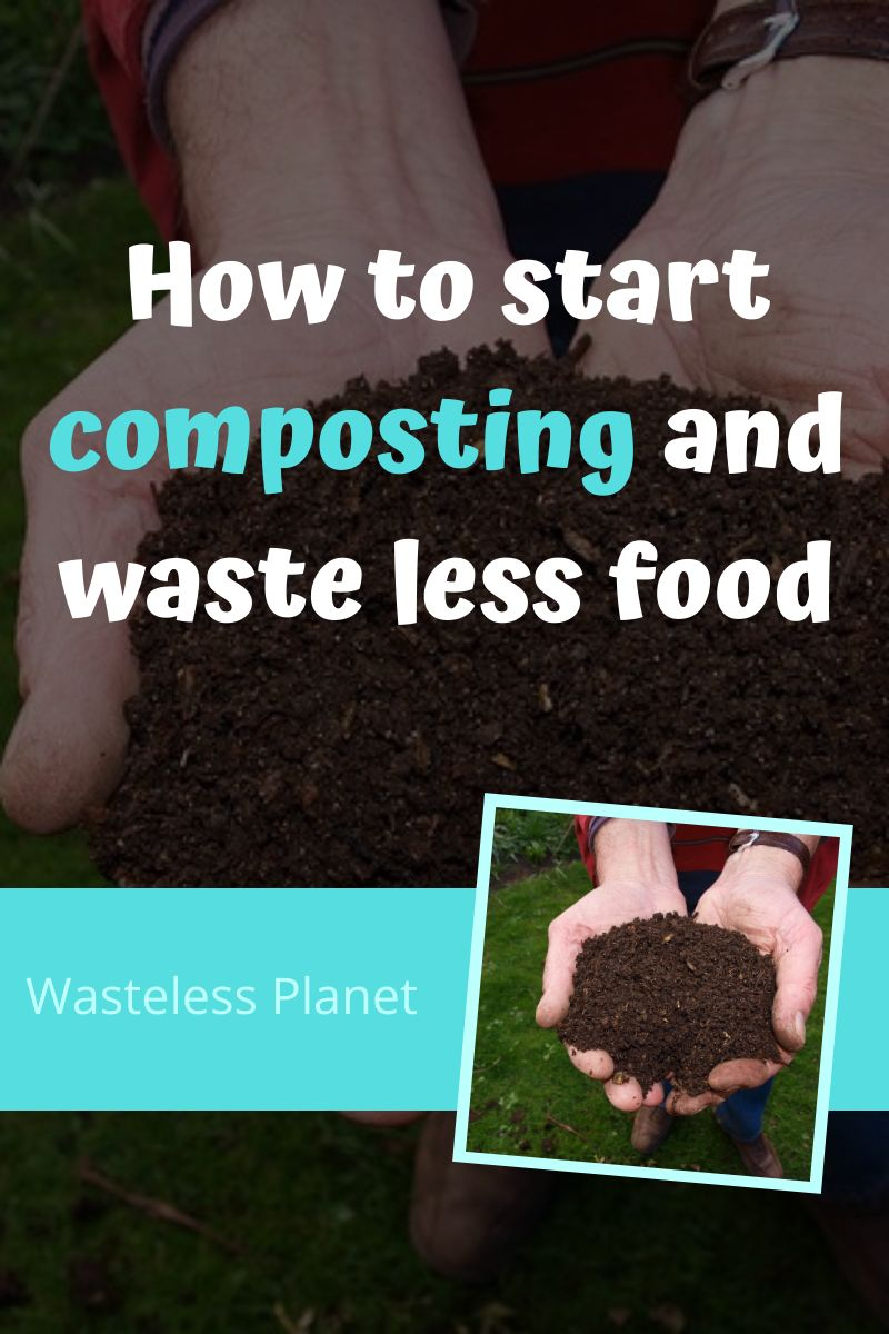 How to start composting and waste less food