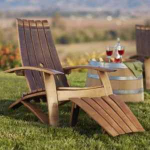Enjoyable Stunning Reclaimed Wine Barrel Furniture For Your Eco Pabps2019 Chair Design Images Pabps2019Com