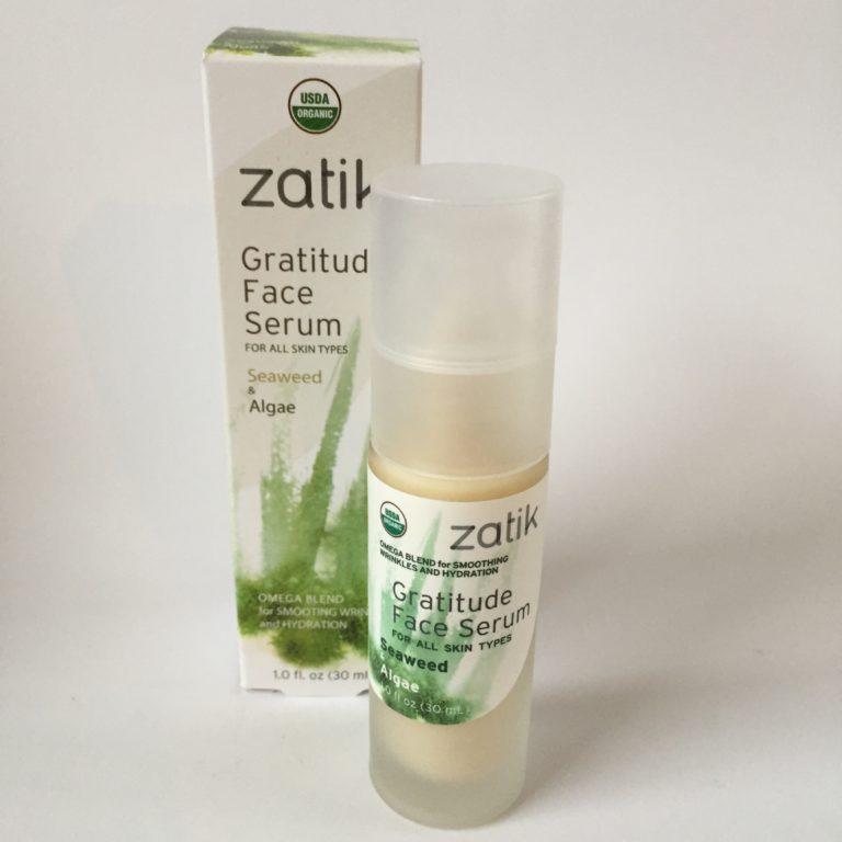 Bottle of Zatik's Gratitude Face Serum