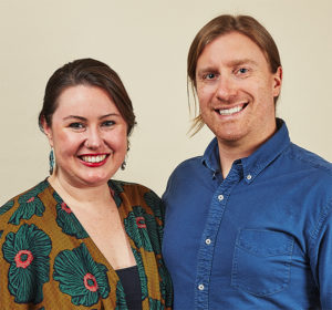 Cayley and Andy, founders of Made Trade