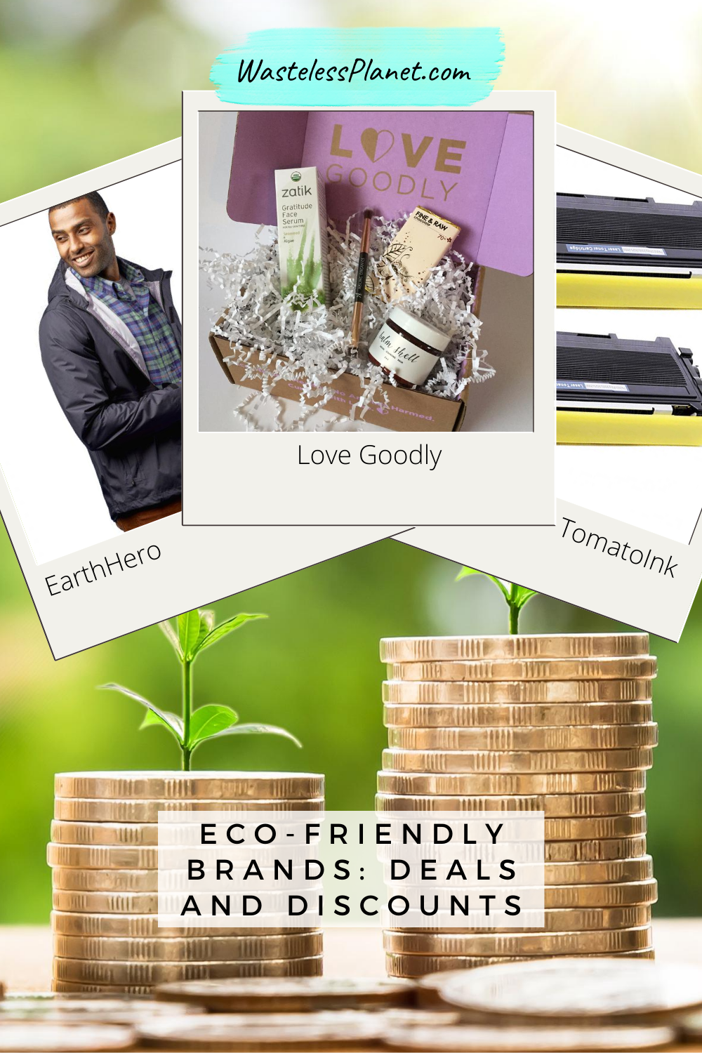 Deals and discounts from eco-friendly brands you\'ll love