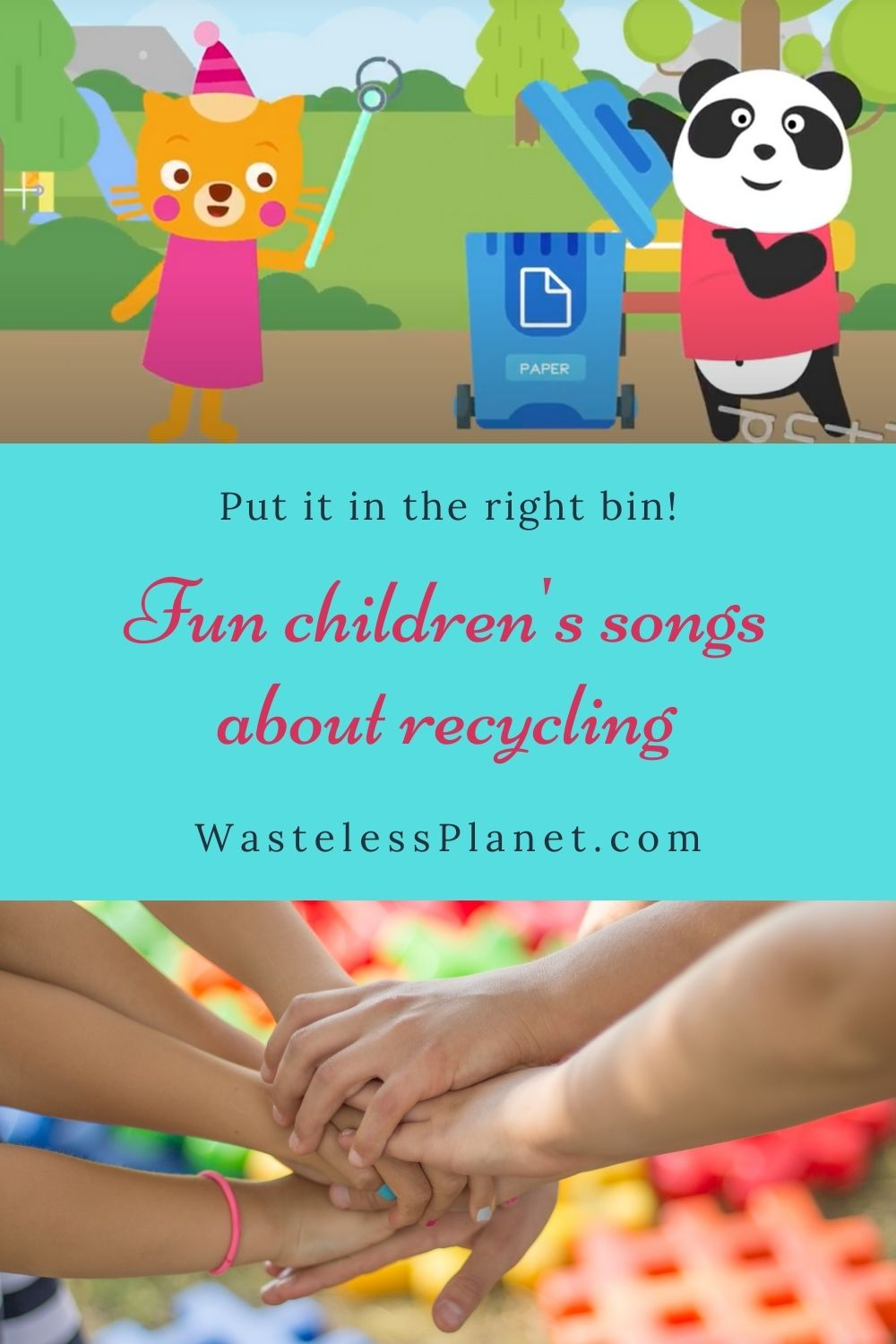 Fun children\'s songs about recycling