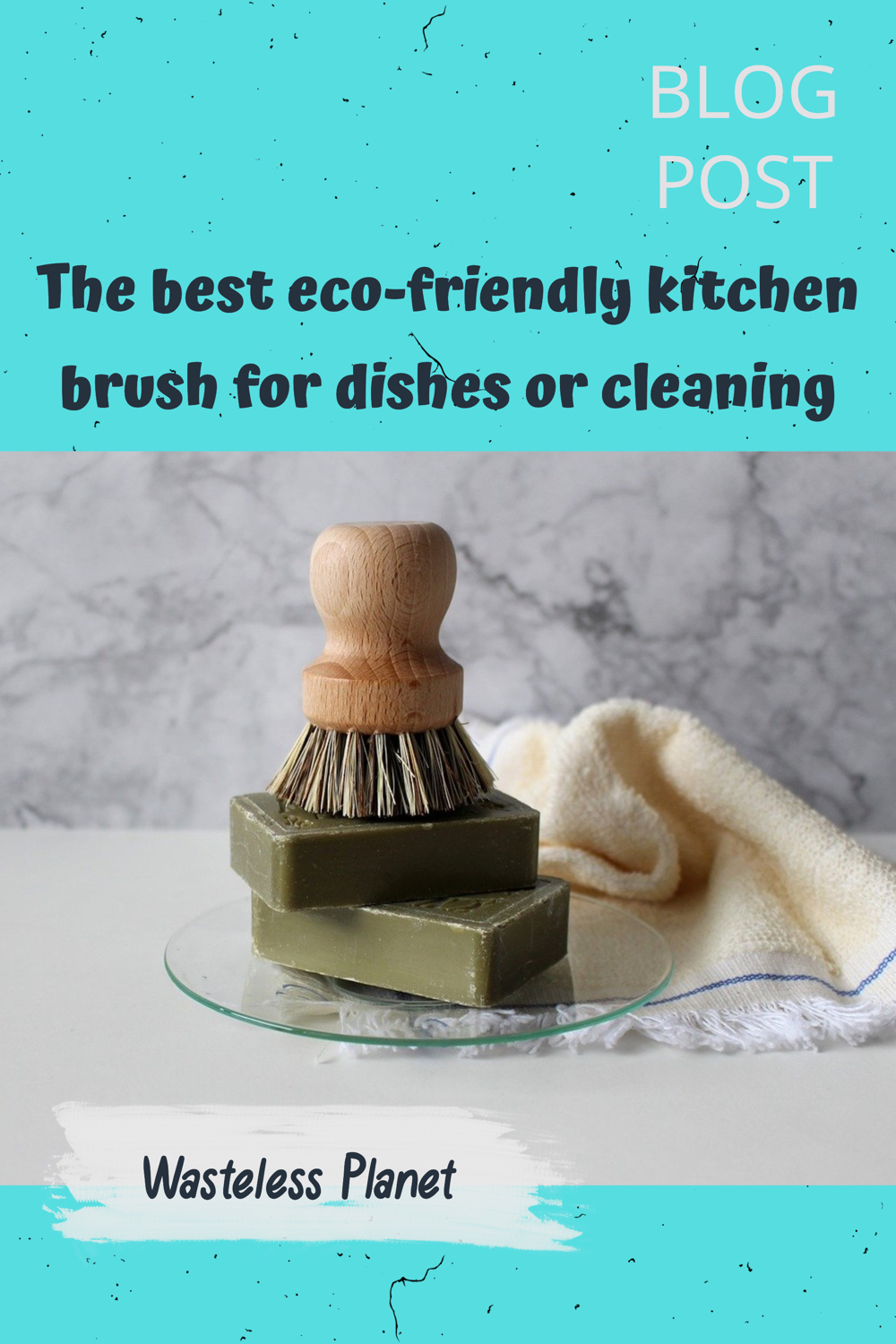 The best eco-friendly kitchen brush for dishes or cleaning